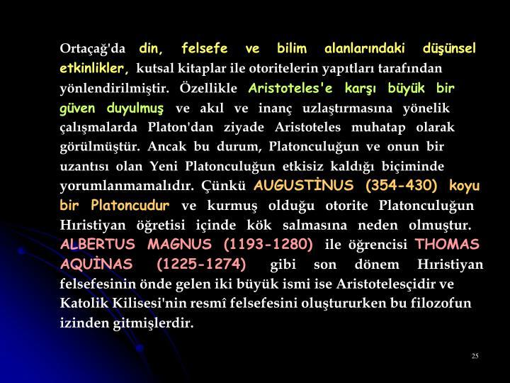 Ortaçağ'da