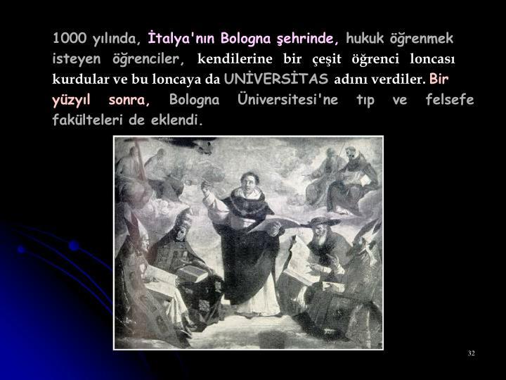 1000 yılında,