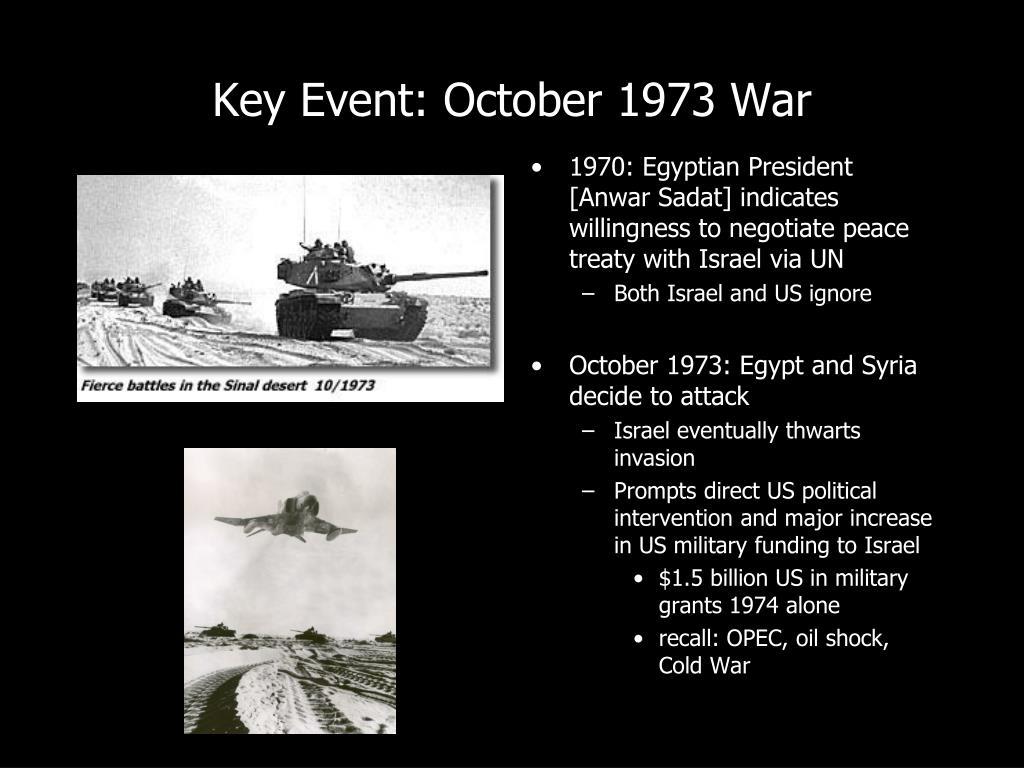 Key Event: October 1973 War