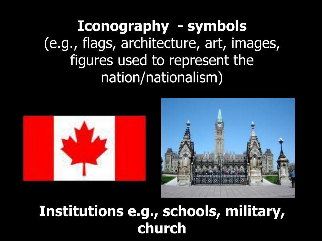 Iconography  - symbols