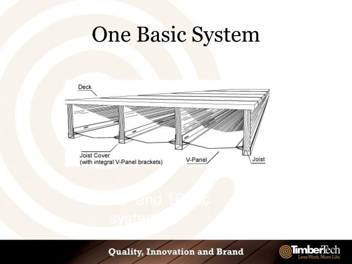 One Basic System