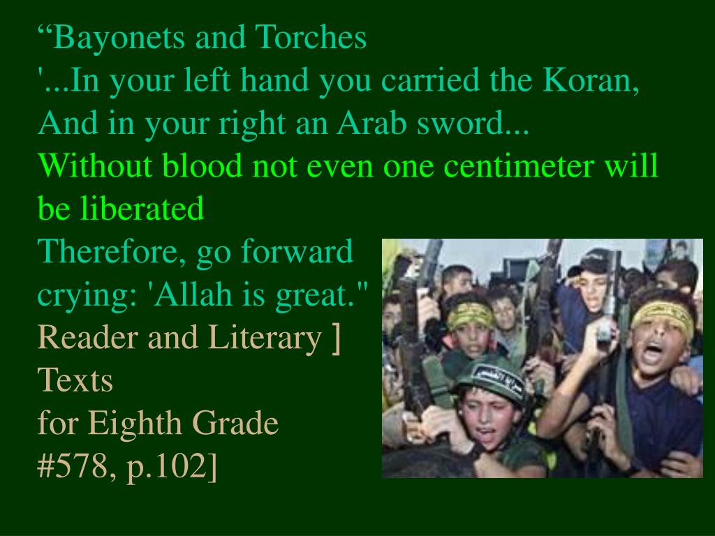 """Bayonets and Torches"