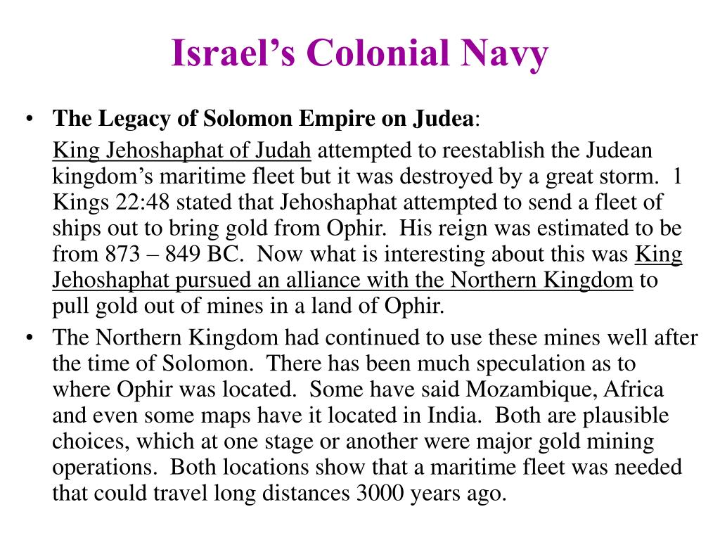 Israel's Colonial Navy