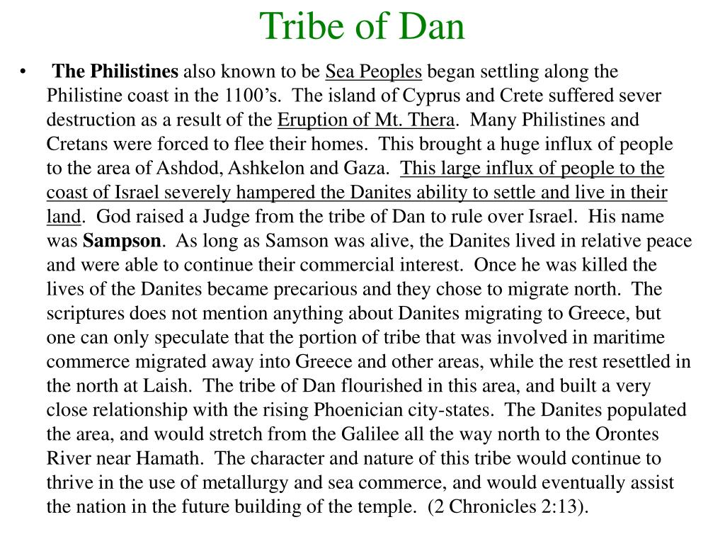 Tribe of Dan