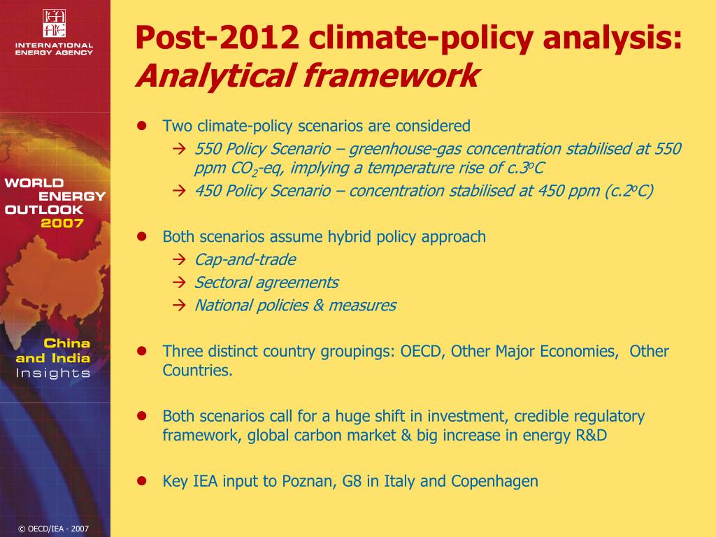 Post-2012 climate-policy analysis:
