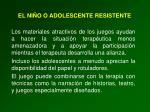el ni o o adolescente resistente2