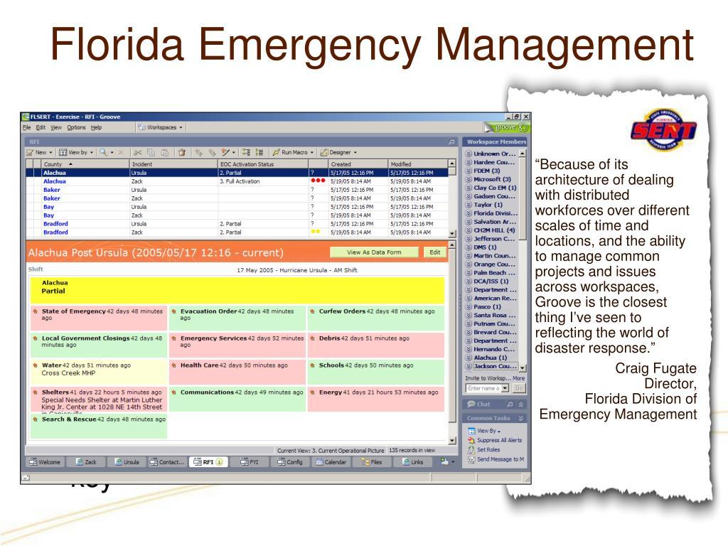Florida Emergency Management