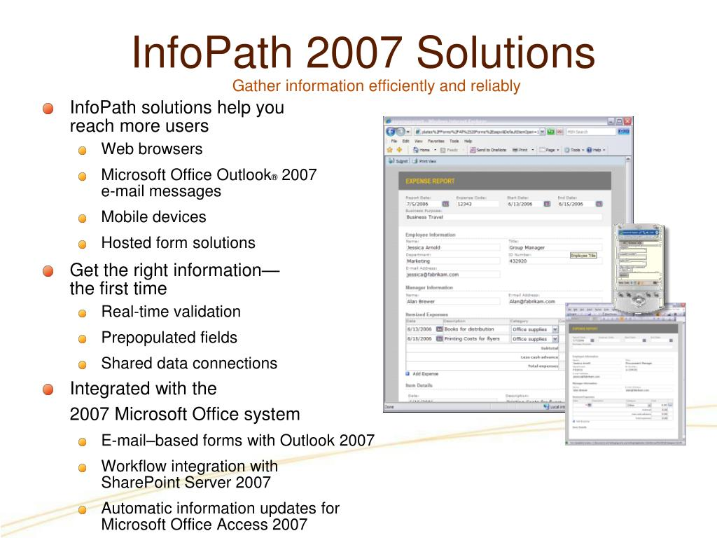 InfoPath 2007 Solutions