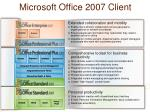 microsoft office 2007 client