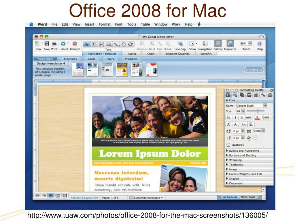 Office 2008 for Mac