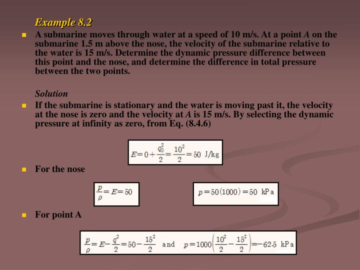 Example 8.2