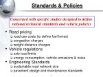 standards policies