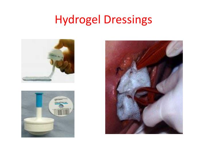 Hydrogel Dressings