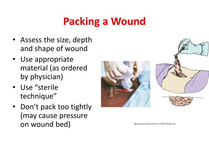 Packing a Wound