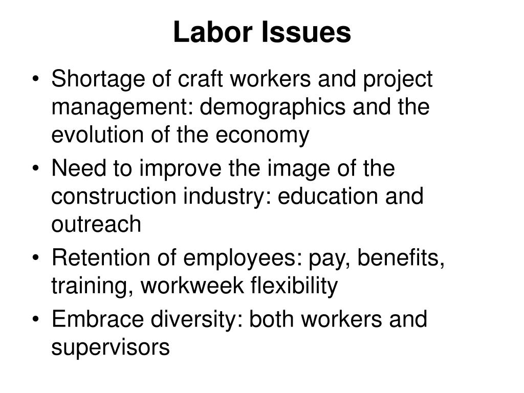 Labor Issues