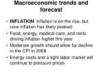 macroeconomic trends and forecast3