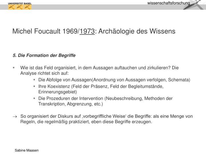 Michel Foucault 1969/