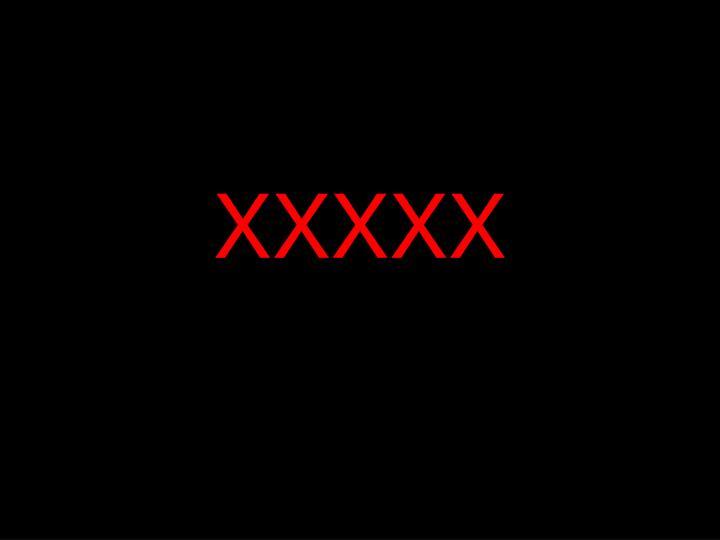 XXXXX