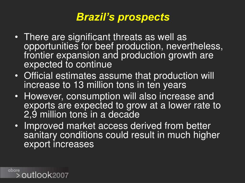 Brazil's prospects