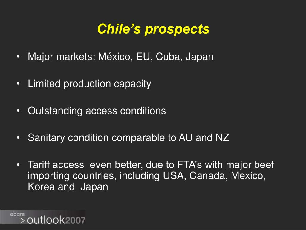 Chile's prospects