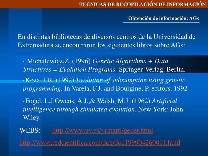 TÉCNICAS DE RECOPILACIÓN DE INFORMACIÓN