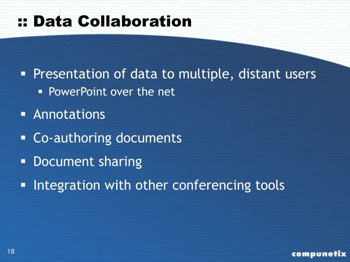 :: Data Collaboration