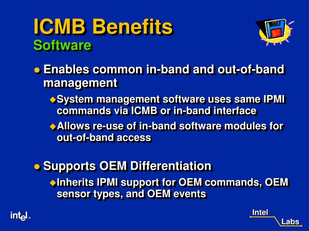 ICMB Benefits