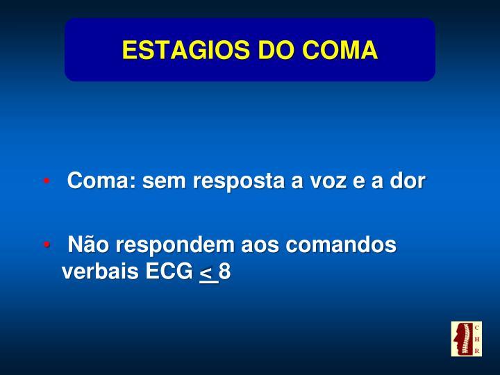 ESTAGIOS DO COMA