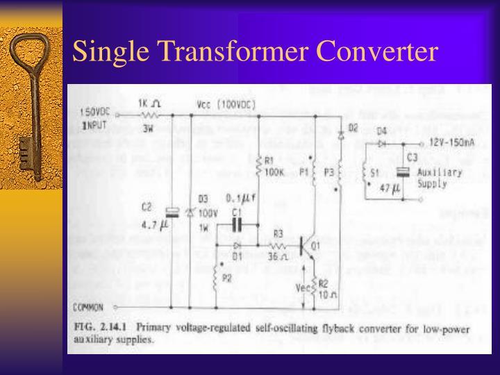 Single Transformer Converter