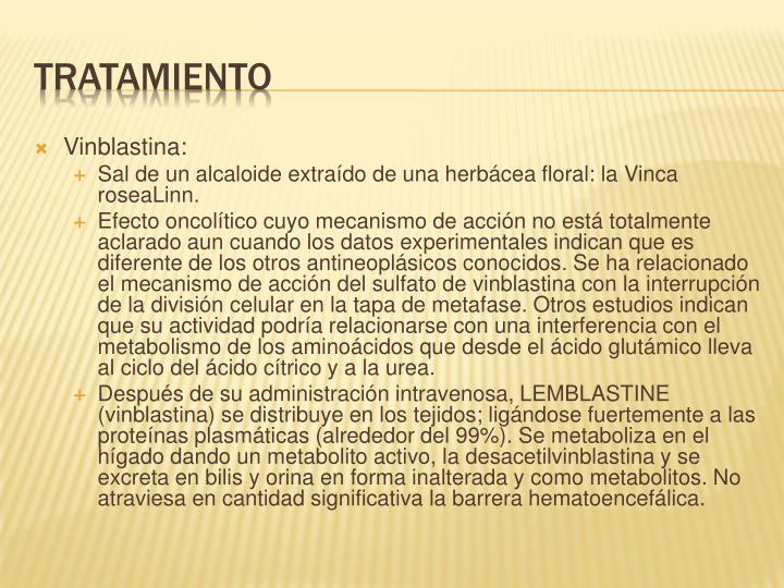 Vinblastina