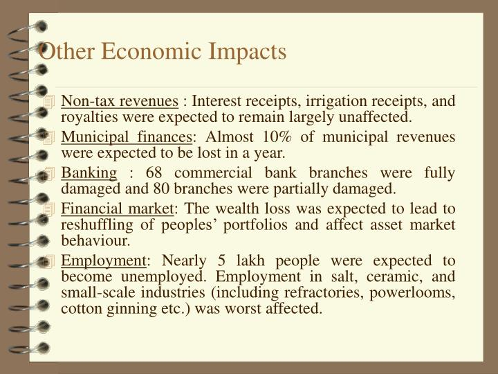 Other Economic Impacts
