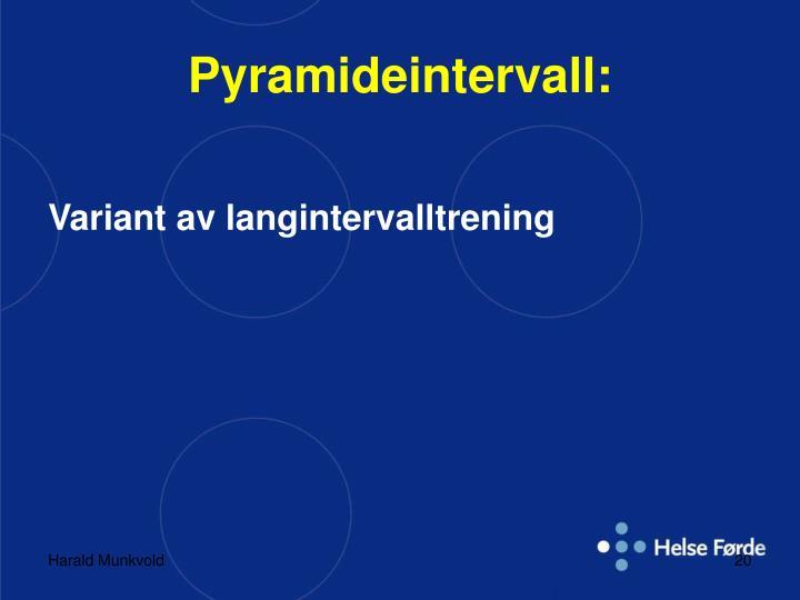Pyramideintervall: