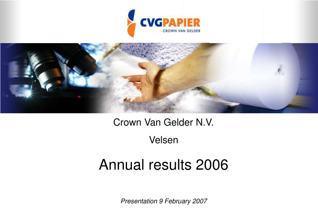 Crown Van Gelder N.V.