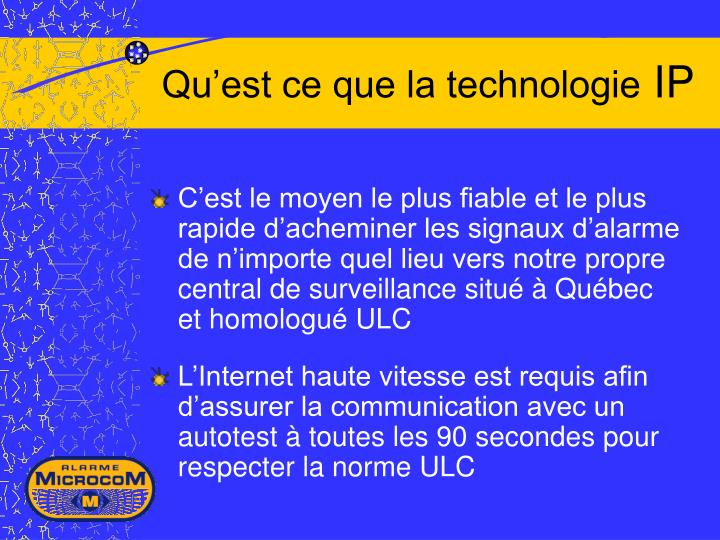 Ppt pr vention s curit et domotique powerpoint for Qu est ce que la lasure