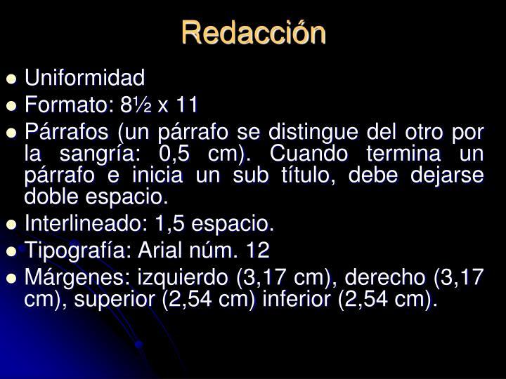 Redacción