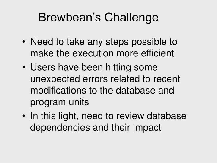 Brewbean's Challenge