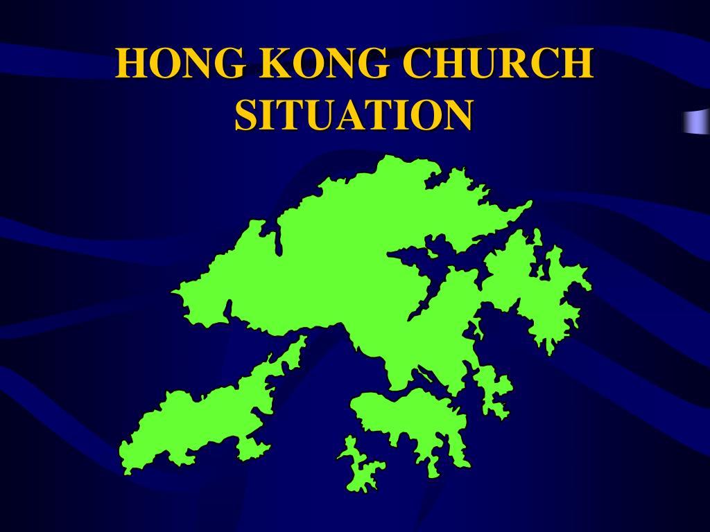 hong kong church situation