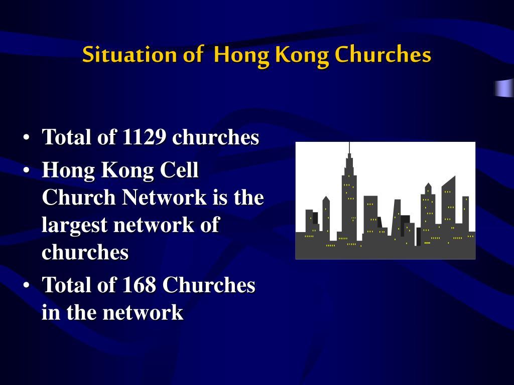 Situation of  Hong Kong Churches