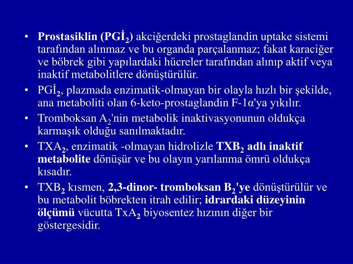 Prostasiklin (PGİ