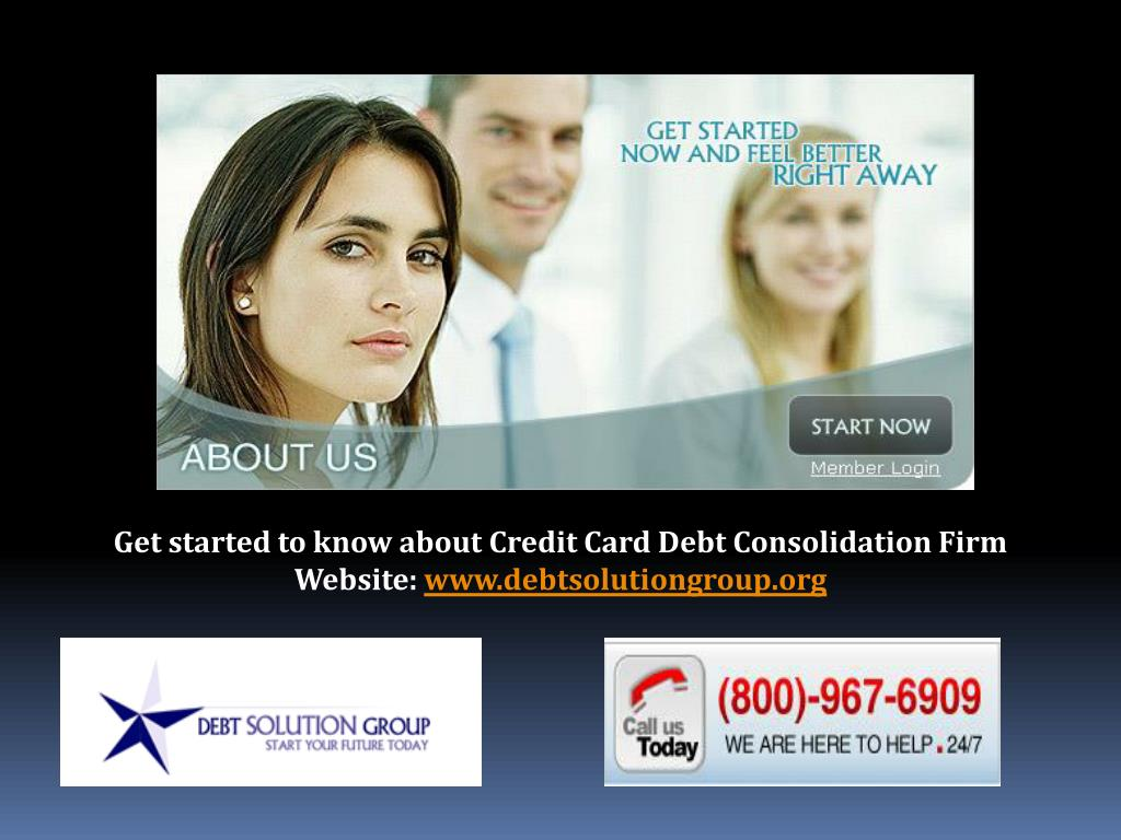 Get started to know about Credit Card Debt Consolidation Firm