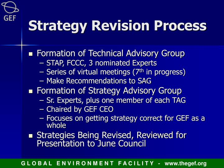 Strategy Revision Process