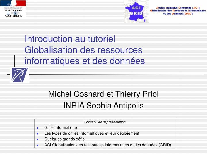 Introduction au tutoriel