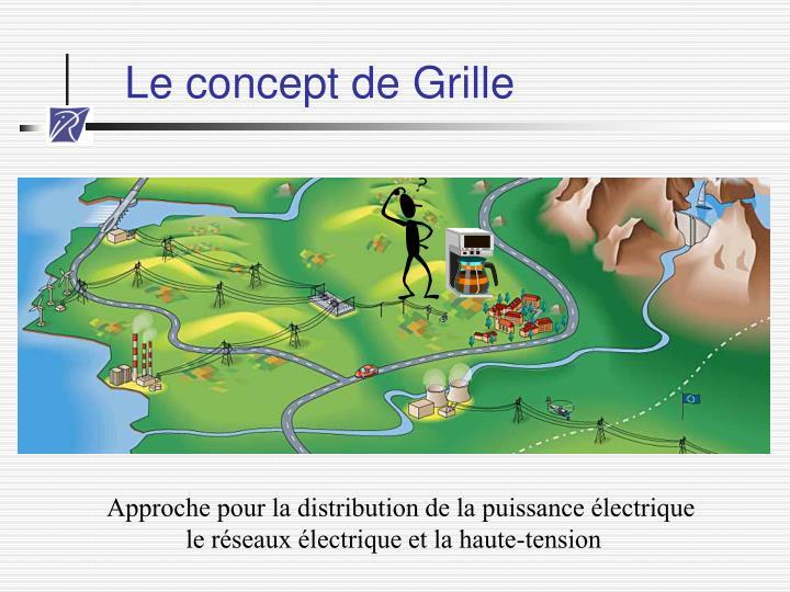 Le concept de Grille
