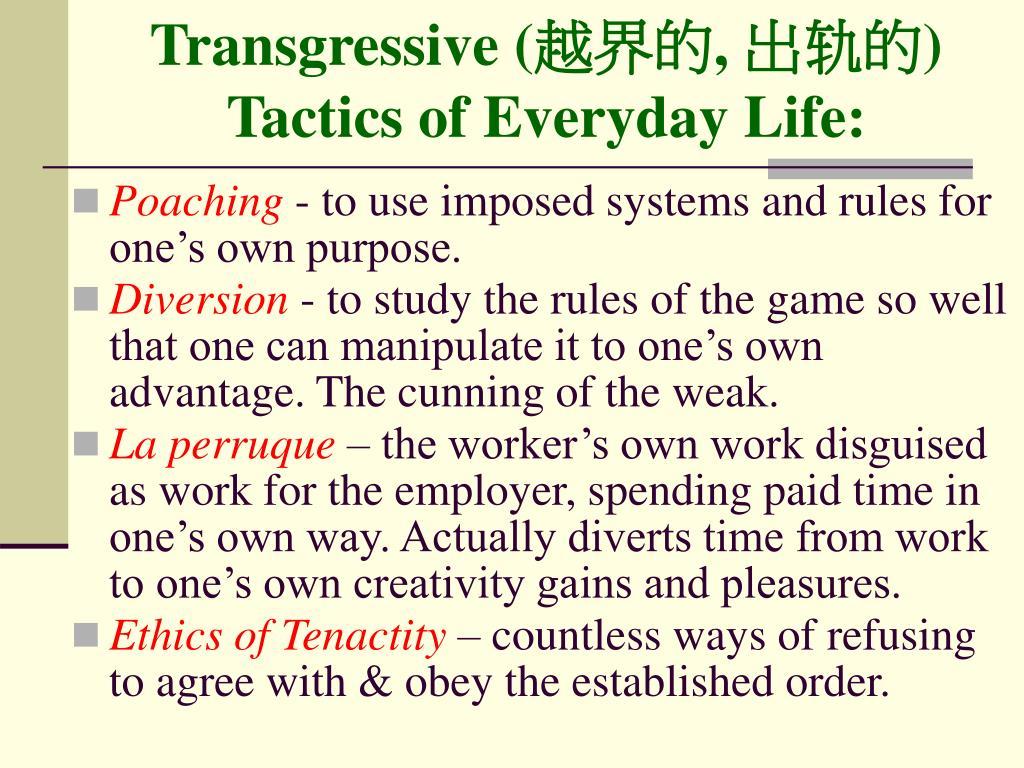 Transgressive (