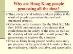 why are hong kong people protesting all the time9