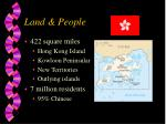 land people