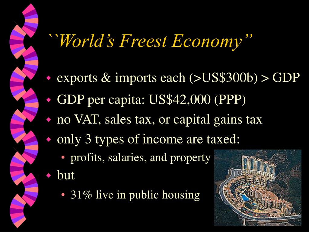 ``World's Freest Economy""