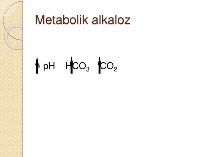 Metabolik alkaloz