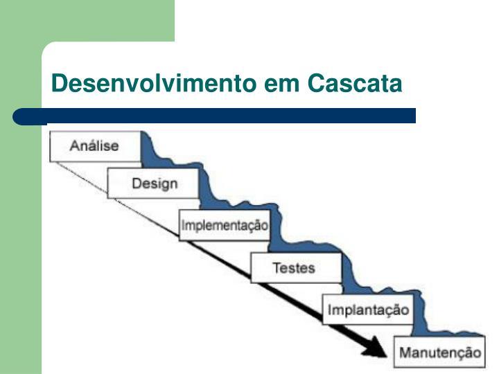 Desenvolvimento em Cascata