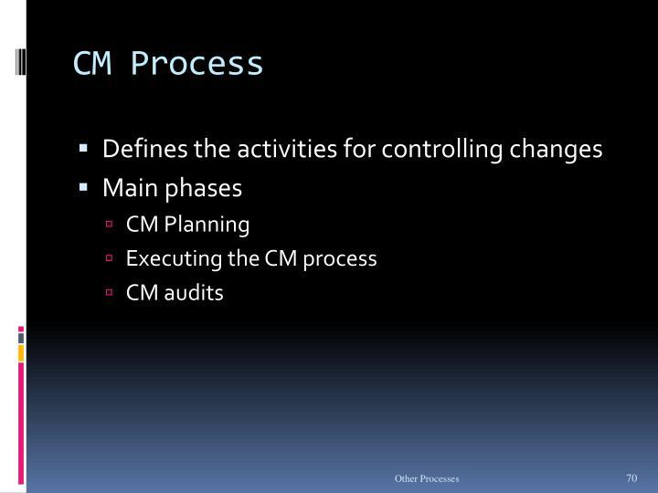 CM Process
